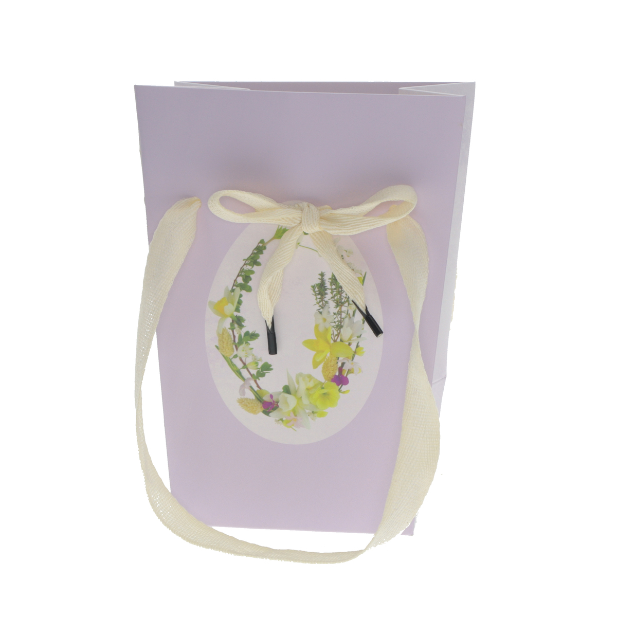 Carrybag Easter Decoration 15 15x11x20cm Fsc Mix Lilac
