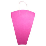 FLOWERBAG NONWOVEN 16.5X17X5 IN HOT PINK