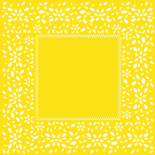 ARTLINE SHEET 24x24 IN YELLOW