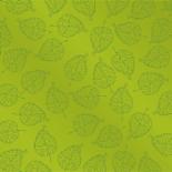 ORGANZA ROYAL GARDEN 24X24 IN + HOLE GREEN