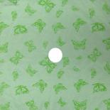 ORGANZA MARIPOSA 24x24 IN LIGHT GREEN + HOLE