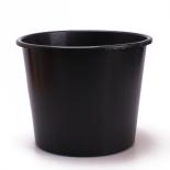BUCKET 8 LITER BLACK [ 3,780 per pallet]