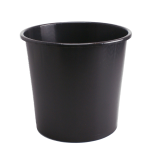 BUCKET 10L WIDE BLACK [2,660 per pallet]
