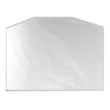 KRAFT SHEET 24.5x33.5 IN WHITE AFG CORNERS (21 Kilo per pack