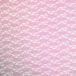 LACE 20X28 IN + HOLE LIGHT PINK