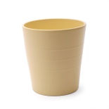 CERAMIC POT LINN ES12 MATTE YELLOW