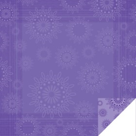 Kaleidoscope Sheet 24x24 in lilac