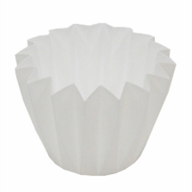 Cupcake container 5.5 in white