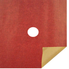 KRAFT 20X24 IN 50GRS RED WITH HOLE