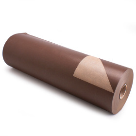 Kilo Bruinkraft 50cm/50g. op rol bruin p/kg