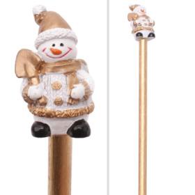 Pencil Snowman 21cm