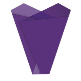 Sleeve Teagan 50x35x10cm purple
