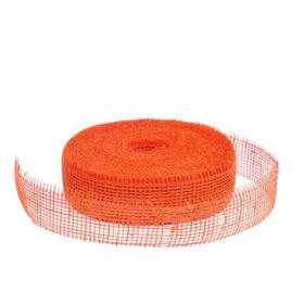 Jute 5cm/40m Gestijfd Oranje 8280