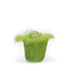 SISAL PLANTCOVER 4/3.5 IN GREEN
