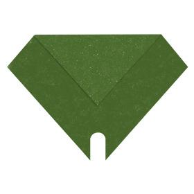 Sleeve Sparkling Nights 27x27cm green