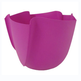 Twister Pot 4in hot pink - Colombia only