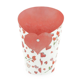 Potcover Love-Leigh ES12 FSC Mix rood