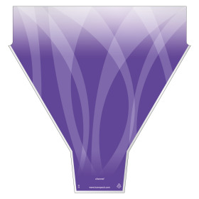 Sleeve Channel 54x44x12cm lilac