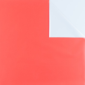 Flipsheets (unprinted/485) 50x50cm white/red