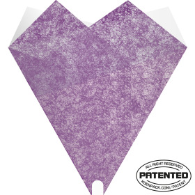 Smartsleeve Elegant 18x20x4in purple