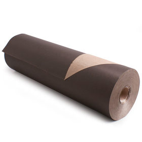 Roll Brown Kraftpaper 60cm/50g. FSC Mix 70% black