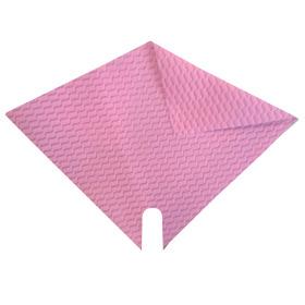 Hoes Impress Wave 32x32cm roze