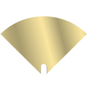 Sleeve Moon Iris 30x30cm gold