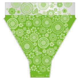 Sleeve Chelsea 54x44x12cm green
