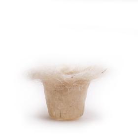 Potcover Sisal 11/9cm white