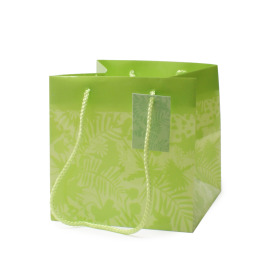 Carrybag Jungle 16x16x16cm green