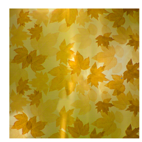 Fall Leaves 24x24in yellow