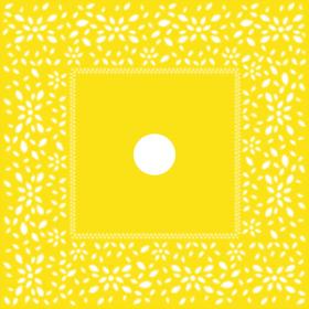 Artline Sheet 24x24 in yellow H3