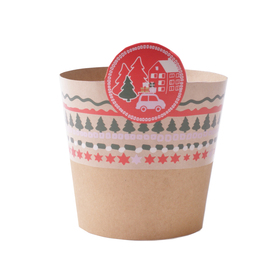 Potcover Christmas Stories ES10.5 FSC Mix red