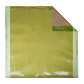 Sheet Chocolate 70x70cm green