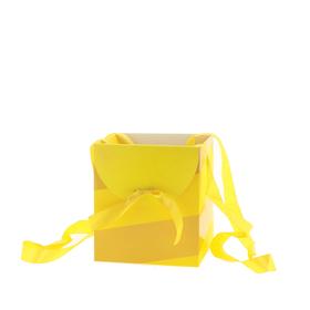 Draagtas Muse 16x16x18cm FSC Mix geel