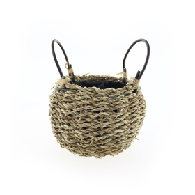 Basket Seagrass TØ11,5 x BØ12 x H9,5cm