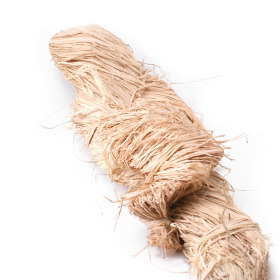 Raffia bundle 1kg natural