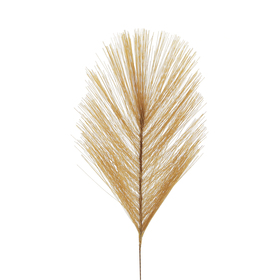 Artificial Feather Fendi 10cm on 10cm stick caramel