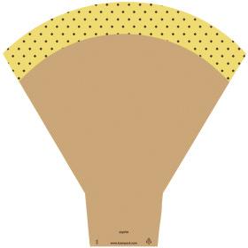 Sleeve Sophie 54x44x14cm yellow