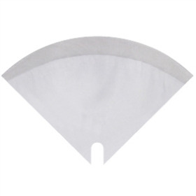 Sleeve Moon Glossy 35x35cm white