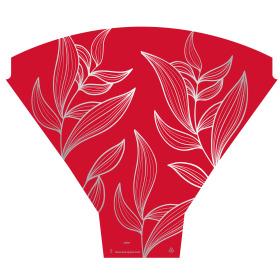Sleeve Eden 54x44x12cm red