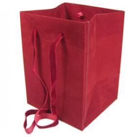 Carrybag Velvet 4.2/4.5x4.2/4.5x6.3 burgundy
