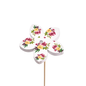 Flower Rituals 8cm on 50cm stick