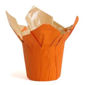 Cover-Ups Kraft 4.5 in Pumpkin orange
