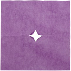 Nonwoven 20x28in purple + x