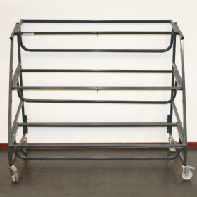 Bucket rack /Plant trolley 12E/B 127,5x70x114cm gray