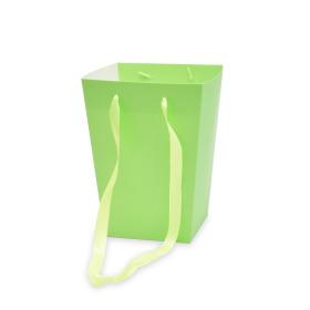 Carrybag Uni 16/16x12/12x22cm green