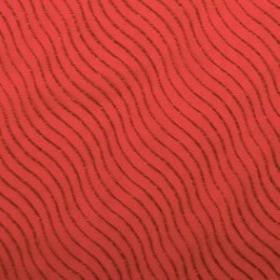 ORGANZA DESERT 20X28IN + HOLE NO EDGE RED