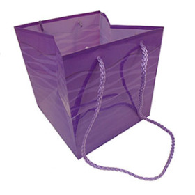 Carrybag Serenity 6.25x6.25x6.25in purple