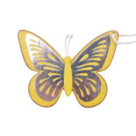 Butterfly Tess 9cm yellow
